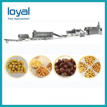 Small frying crispy 3d corn bugles pellets fried chips snacks food machine production line bugles making extruder machine