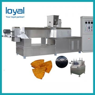 Full automatic sala crispy chips bugles snacks food process line / manufacturing plant
