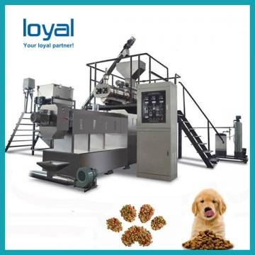 Large Capacity Pet Food Machine , Dog Food Production Line 1 Year Warranty
