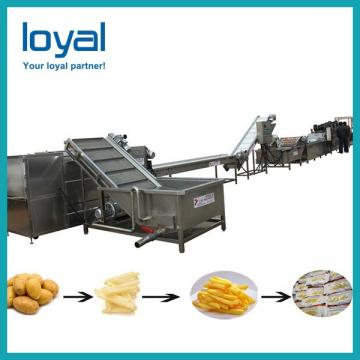 30 Kg/h Commercial Natural Potato Chips Production Line