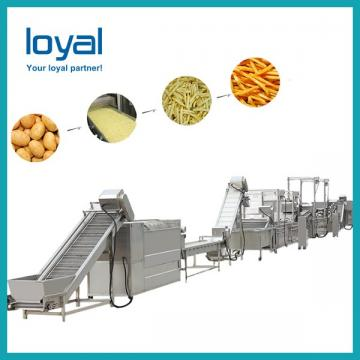 Automatic natural potato chips equipment high out put potato chips production line