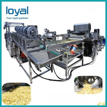 Potato Chip Bakery Production Line Equipment Commercial 500KG/H 40m Long