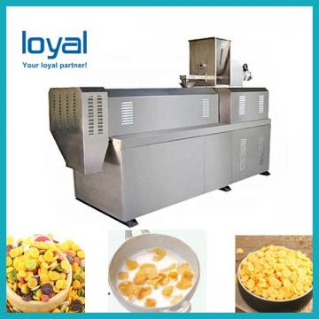 Automatic Cereal Choco Cocoa Ball Corn Flakes Puff Snack Food Making Machine