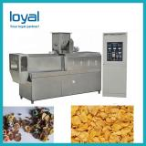 Automatic Choco Cereal Oats Grain Corn Rice Flake Flaking Mill Extruder Machine